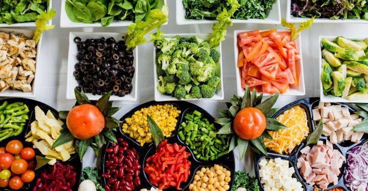 Aliments qui composent notre alimentation