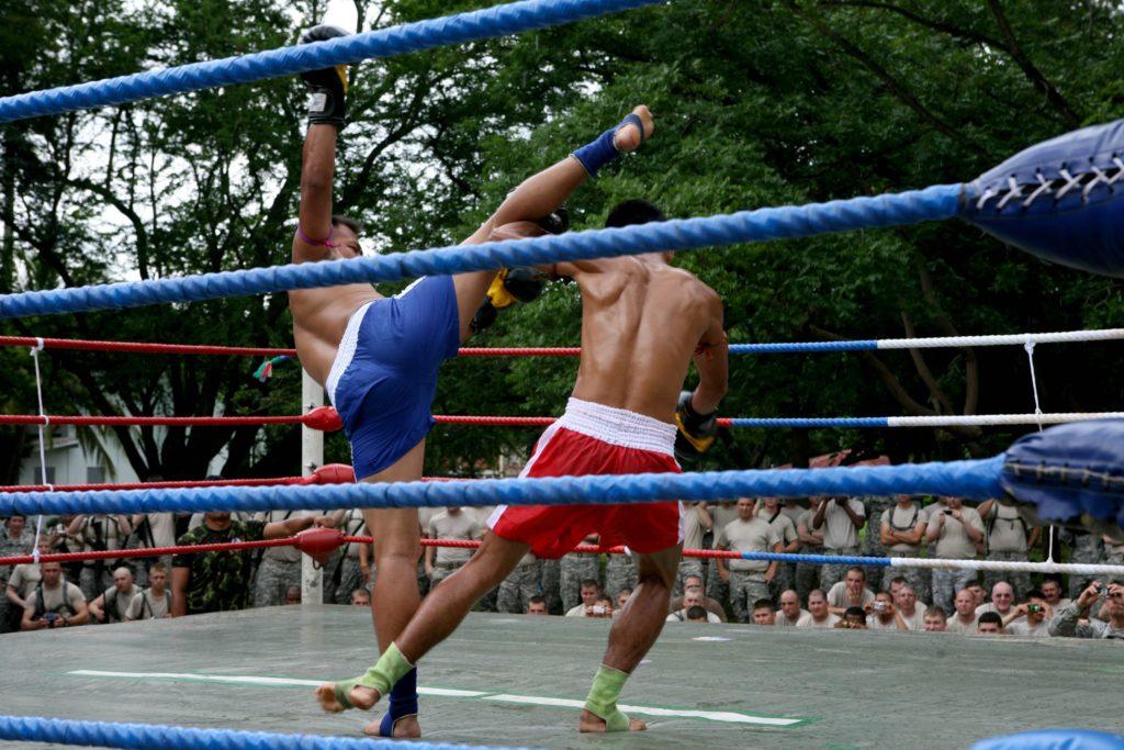 combat de boxe thaïlandaise