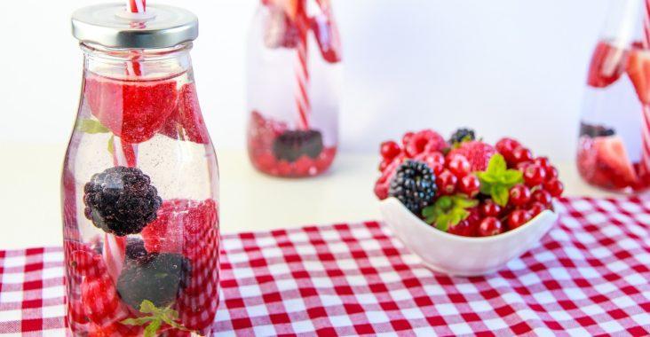 boisson avec des fruits