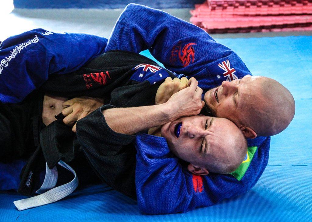 étranglement en jiu jitsu brésilien